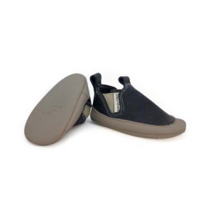 zapatos-bebe-suela-blanda-flexibles-gris-slip-on